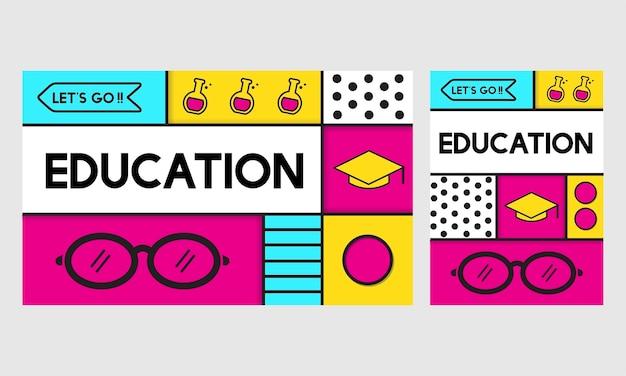Illustration du concept de l'éducation