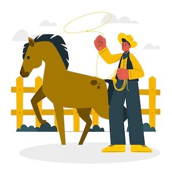 Illustration du concept d'éleveur