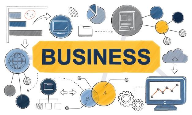 Illustration du concept d'entreprise
