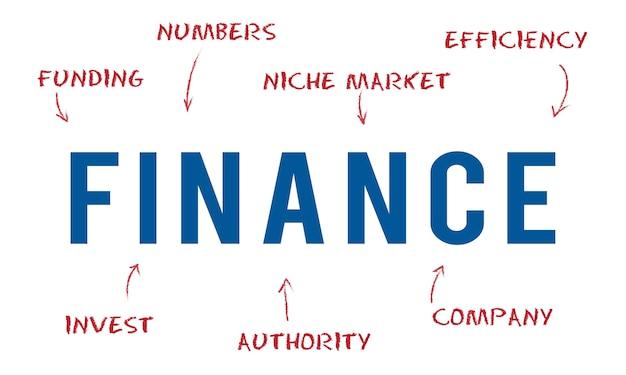 Illustration du concept financier