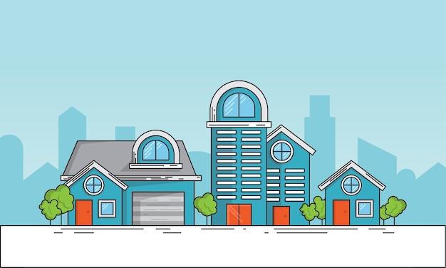 Illustration du concept de propriété