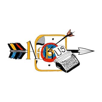 Illustration du concept de service client