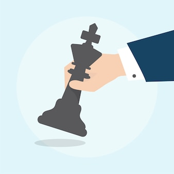 Illustration du concept de stratégie d'entreprise