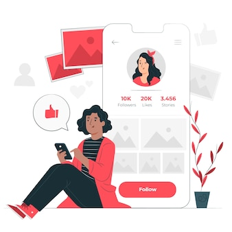 Illustration du concept suivant