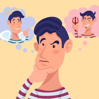 Illustration du dilemme éthique
