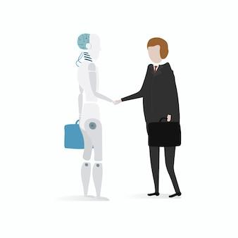 Illustration du graphique vectoriel de robot