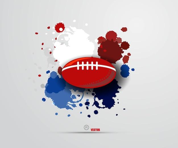 Illustration du jeu de football américain