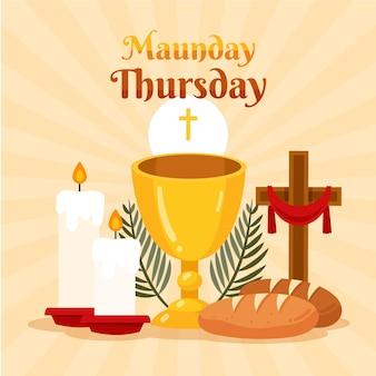 Illustration du jeudi saint
