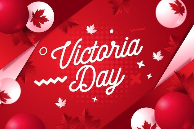 Illustration du jour plat canadien de victoria