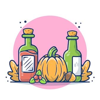 Illustration du jour de thanksgiving