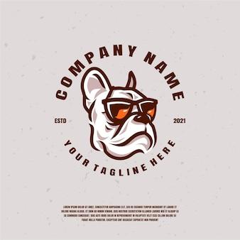 Illustration du logo bulldog