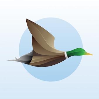 Illustration du logo de canard