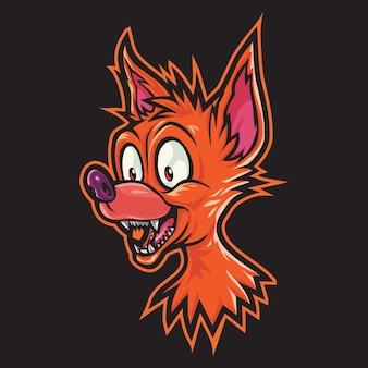 Illustration du logo crazy coyote esport