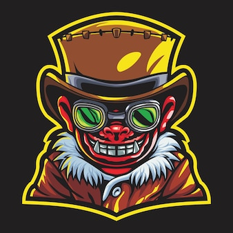 Illustration du logo devil boy esport