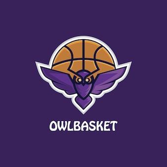 Illustration du logo esport chouette