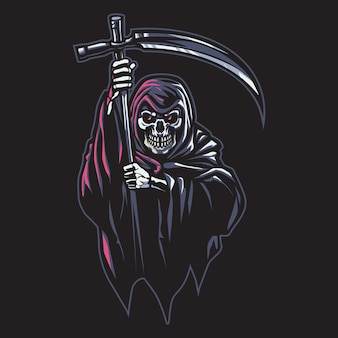 Illustration du logo grim reaper esport