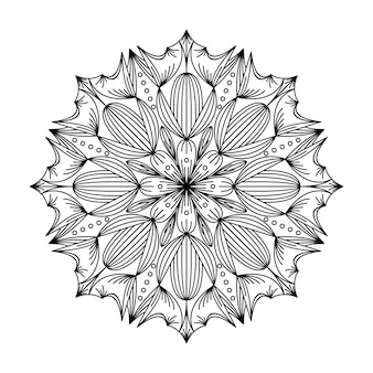 Illustration du logo mandala