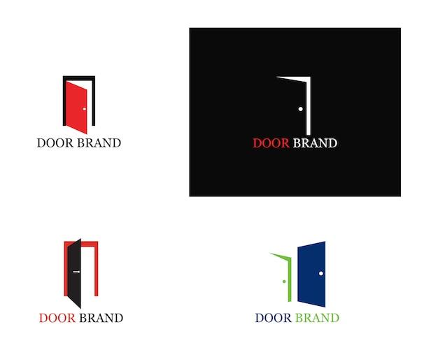 Illustration du modèle de porte logo