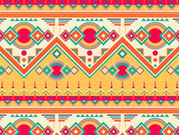 Illustration du motif ethnique