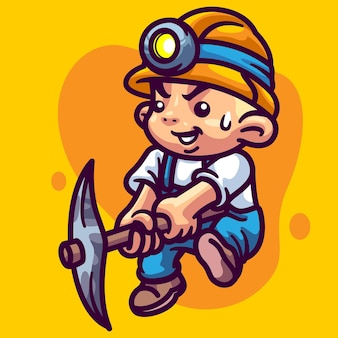 Illustration du personnage crypto miner
