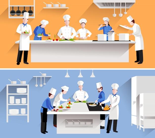 Illustration du processus de cuisson