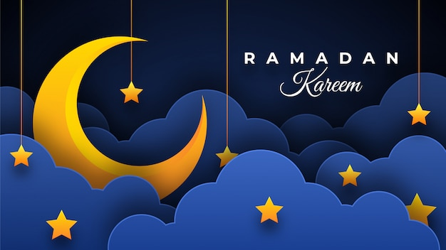 Illustration du ramadan kareem