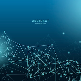 Illustration du réseau neuronal bleu