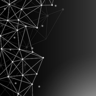 Illustration du réseau de neurones noir