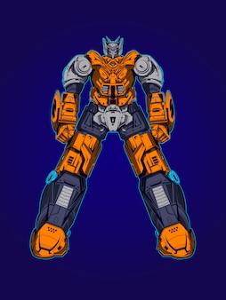 Illustration du robot herobotz