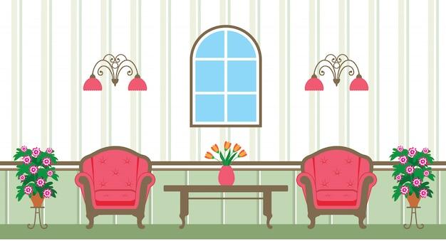 Illustration du salon