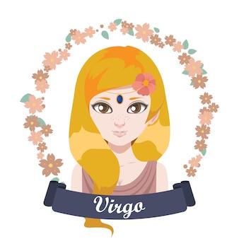 Illustration du signe du zodiaque