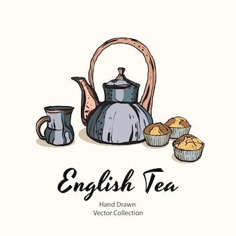 Illustration du thé