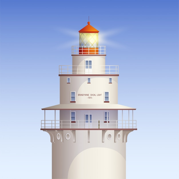 Illustration du vieux phare