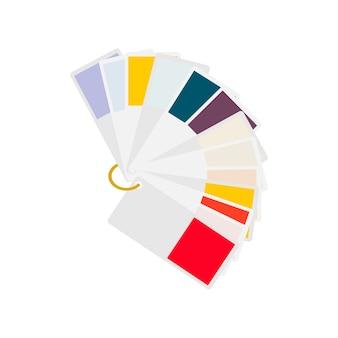 Illustration de l'échantillon de couleur