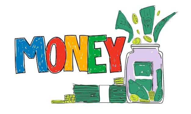 Illustration des économies d'argent