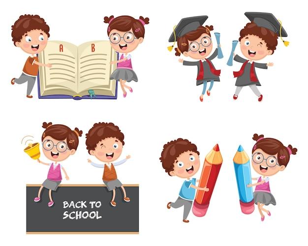 Illustration de l'éducation