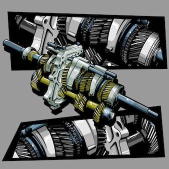 Illustration d'engrenage