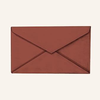 Illustration de l'enveloppe dessinée à la main