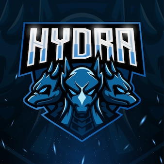 Illustration de l'esport mascotte hydra