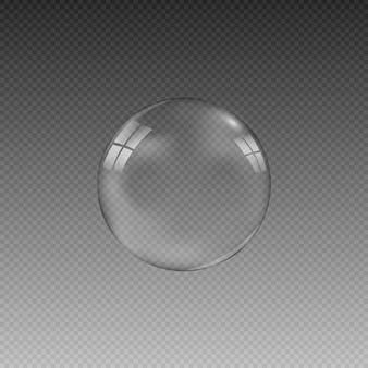 L'illustration est réalisée sous forme de goutte ou de bulle de savon.