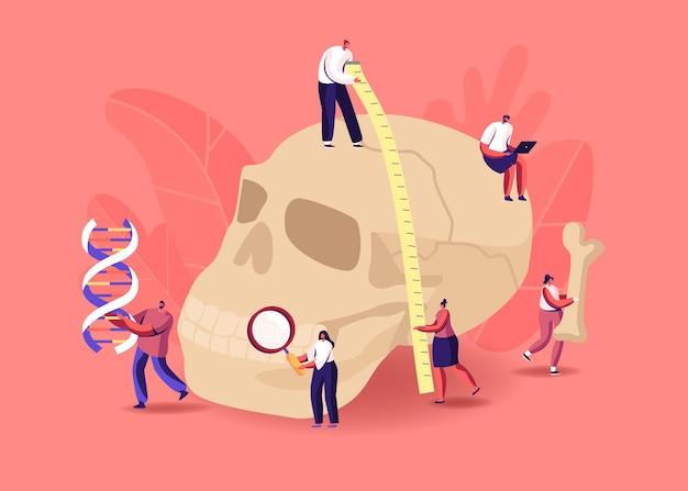 Illustration de l'étude d'anthropologie antique.