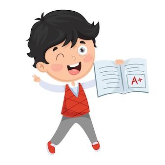 Illustration de l'étudiant