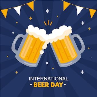 Illustration de l'événement de la journée de la bière