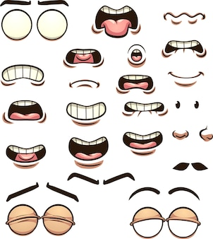 Illustration des expressions faciales