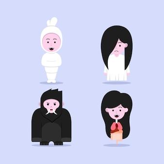 Illustration de fantôme mignon