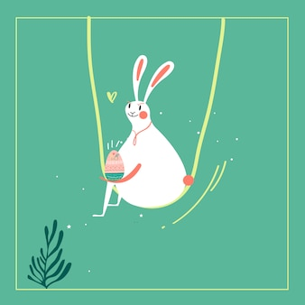 Illustration de la fête de pâques