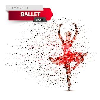Illustration de la fille dansante