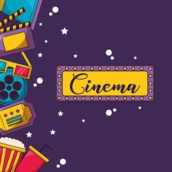 Illustration de film de cinéma