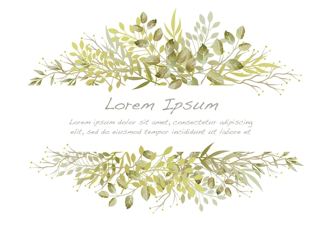 Illustration de fleur aquarelle vectorielle isolée sur fond blanc.