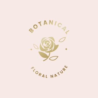 Illustration florale botanique
